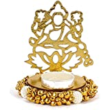 Giftacrossindia Exclusive Shadow Diya Tealight Candle Holder Of Removable Goddess Lakshmi For Diwali Home Decor...