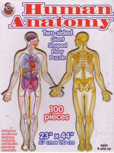 Cheap Frank Schaffer Human Anatomy 100-piece Deluxe Double-Sided Floor Puzzle (B001UL5IUU)