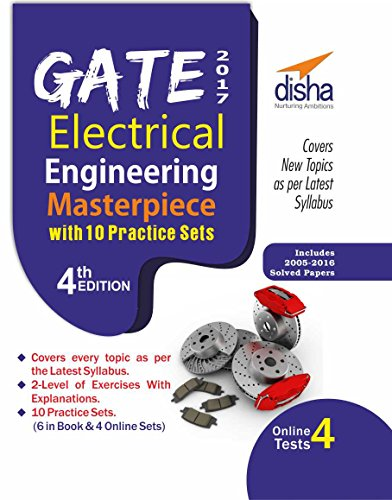 GATE 2017 Electrical Engineering Masterpiece with 10 Practice Sets (6 in Book + 4 Online)