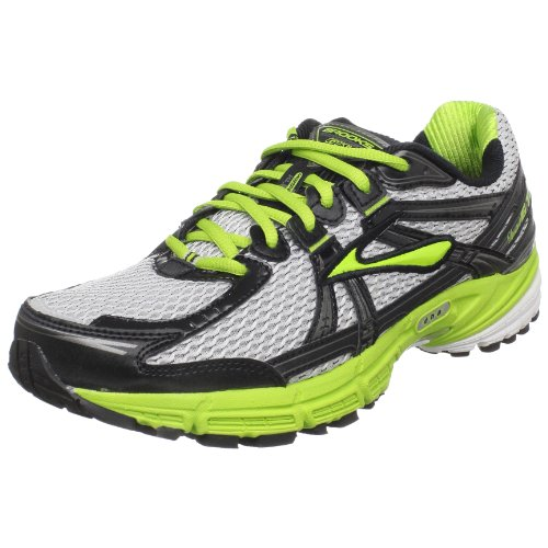 Brooks Men's Adrenaline GTS 11 Running,LimeGreen/MetPvmt/Bl,10.5 D US