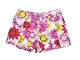 Girls Cotton Pleated Shorts