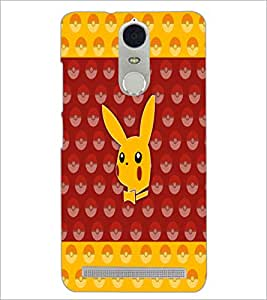 PrintDhaba Pattern D-5571 Back Case Cover for LENOVO K5 NOTE (Multi-Coloured)