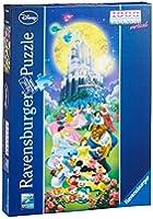 Ravensburger 15056 4 - Panorama Disney, Puzzle 1000 Pezzi