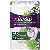 Always Discreet Normal Incontinence Pads - Pack of 96