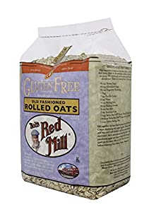 Bob's Red Mill Gluten Free Whole Grain, Rolled Oats, 32-oz. Bags (Count of 4)