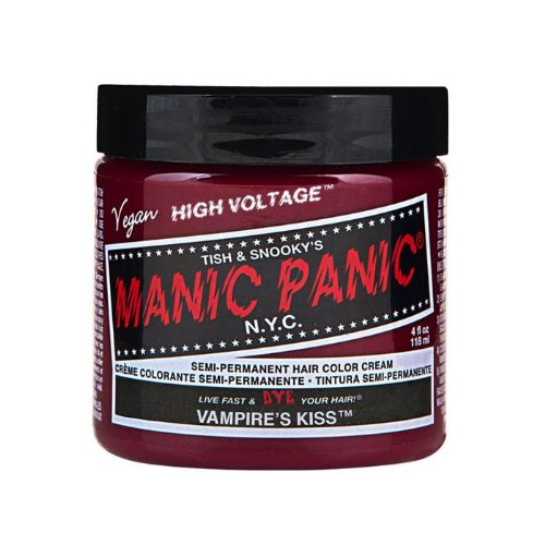 Manic Panic Hair Dye Classic Cream Color Vampire's Kiss Red Semi-Permanent Formula
