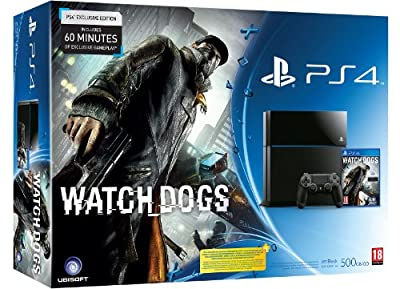 Sony PS4 Console with Watch Dogs (PS4) by Sony