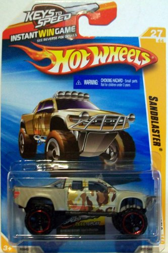 Hot Wheels 2010 New Models # 027 Sandblaster Camo Tan 27 of 44