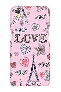 ZAPCASE PRINTED BACK COVER FOR OPPO A37 Multicolor