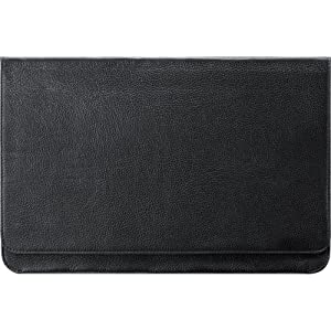 Samsung Electronics 13-Inch Leather Mineral Ash Black Series 9 Ultrabook Sleev e (AA-BS3N13B/US)
