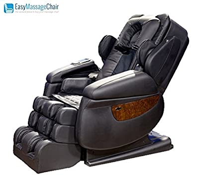 iRobotics 7th Generation 3D Zero Gravity Heating Massage Chair Black