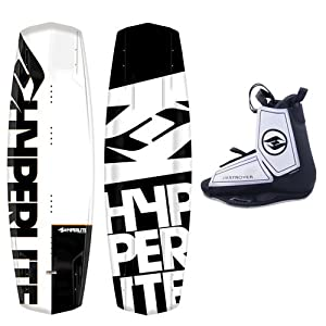 Buy Hyperlite Agent Wakeboard Package with 2014 Hyperlite Destroyer Bindings by Hyperlite