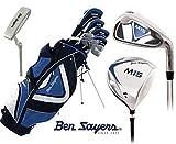Ben Sayers M15 Golf Schläger Komplett-Set Golftasche Herren Neu Graphit