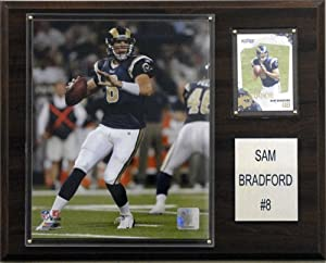 NFL Sam Bradford St. Louis Rams Player Plaque by C&I Collectables