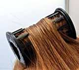 Rollers / Hair Rollers / Black Curler Kobe Japan / 8 Rollers in one package / You can Roll! Rollers stop on your head! Rollers are light! Just One Size!