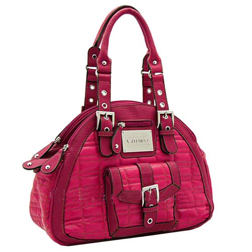Valentino Hot Pink 3 Compartment Handbag Purse