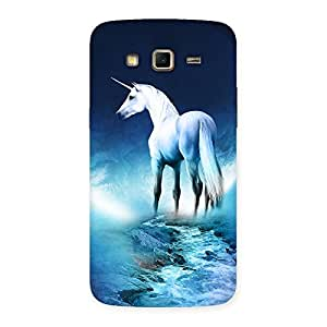Ajay Enterprises Blue Nature & Horse Back Case Cover for Samsung Galaxy Grand 2