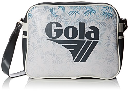 BORSA TRACOLLA GOLA REDFORD WATERCOLOUR DARK GREY/OFF WHITE COD. 393 COD. 398