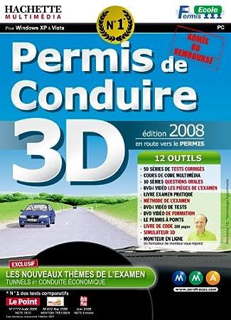 Permis de conduire 3D - édition 2008