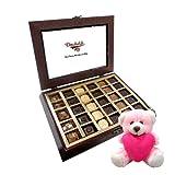 Chocholik Luxury Chocolates - Tasteful Collection Of Chocolates With Teddy