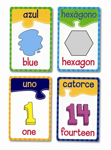 Learning Resources English/Spanish Puzzle Cards Numbers Colors and Shapes, Set Of 20 - Buy Learning Resources English/Spanish Puzzle Cards Numbers Colors and Shapes, Set Of 20 - Purchase Learning Resources English/Spanish Puzzle Cards Numbers Colors and Shapes, Set Of 20 (Learning Resources, Toys & Games,Categories)