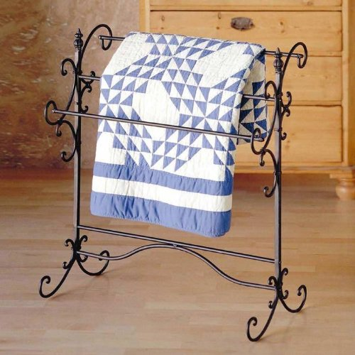 Review Of Southern Enterprises Elizabeth Quilt Rack, Steel