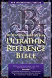 NIV UltraThin Reference Bible: Indexed (Black Genuine Leather) (0879819545) by Bible
