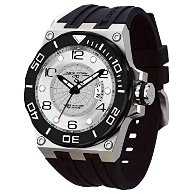 Jorg Gray Three-Hand with Date Men's watch #JG9600-11