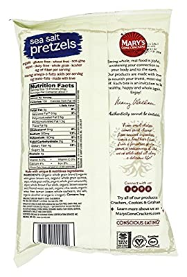 Mary's Gone Crackers - Organic Pretzels Everything