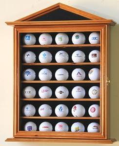30 Golf Ball Designer Display Case Cabinet Holder Wall Rack by sfDisplay