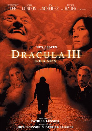 Cover art for  Dracula III: Legacy