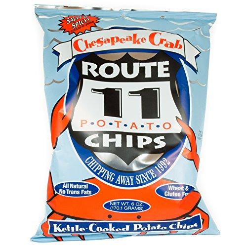 Route 11 Chesapeake Crab All Natural Potato Chips 6 Oz