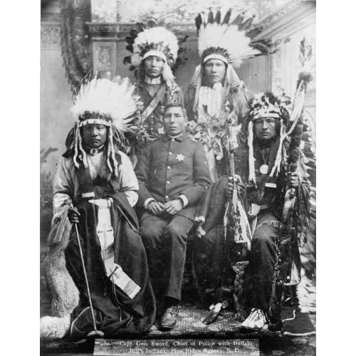 Indians. Members of Lakota or Sioux tribe  Home & Kitchen