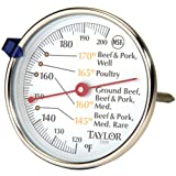 Taylor 5939N Classic Style Meat Dial Thermometer