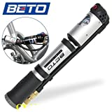 BETO MP-036 超高圧300psi ゲージ付きポータブルポンプ 空気入れ 空気いれ