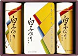 【2012年お中元ギフト】【包装のし付き】 白子のり 特選のり・お茶漬け詰め合わせ 海苔ギフトセット 【夏季限定】