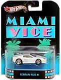 Hot Wheels Retro Entertainment Series - Miami Vice Ferrari Testarossa F512 M Car