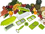 Unique Gadget Nicer Multi Chopper Vegetable Cutter Fruit Slicer Peeler Dicer Plus