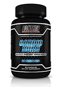 Panther Sports Nutrition-cardio Burn-raspberry Ketones Plus+ Weight Loss Supplement and Appetite Supression, Force Thermogenic - Best Selling Fat Burner, Weight Loss Pills, Energy, Focus, Metabolism Boost, Fitness Supplement -