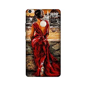 Printrose Xiaomi Mi Max back cover High Quality Designer Case and Covers for Xiaomi Mi Max Woman in love