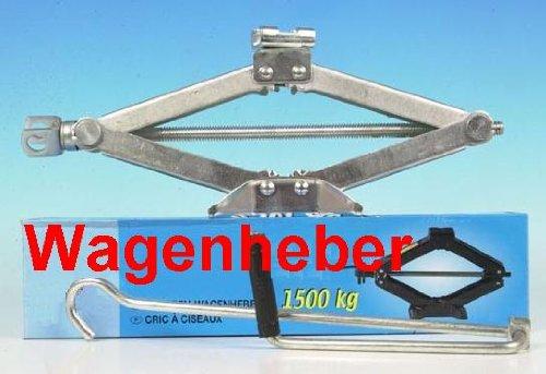 Profi Wagenheber 1500 Kg, Scherenwagenheber,