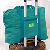 #1: Okayji Travel Season Big Easy Carry On Luggage packing Travel Handbag - Green