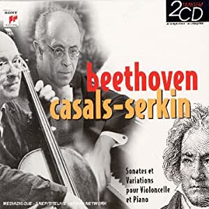 Coffret 2 CD : Beethoven Casals-Serkin