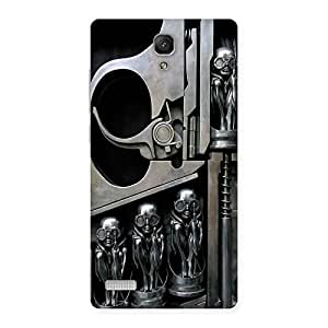 Stylish Sharpshooter Three Gun Back Case Cover for Redmi Note Prime