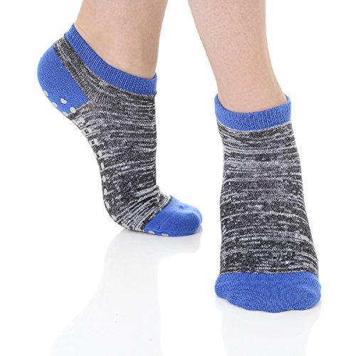 Great Soles Women's Classic Barre Sock for Pilates Barre One Size Space Dye