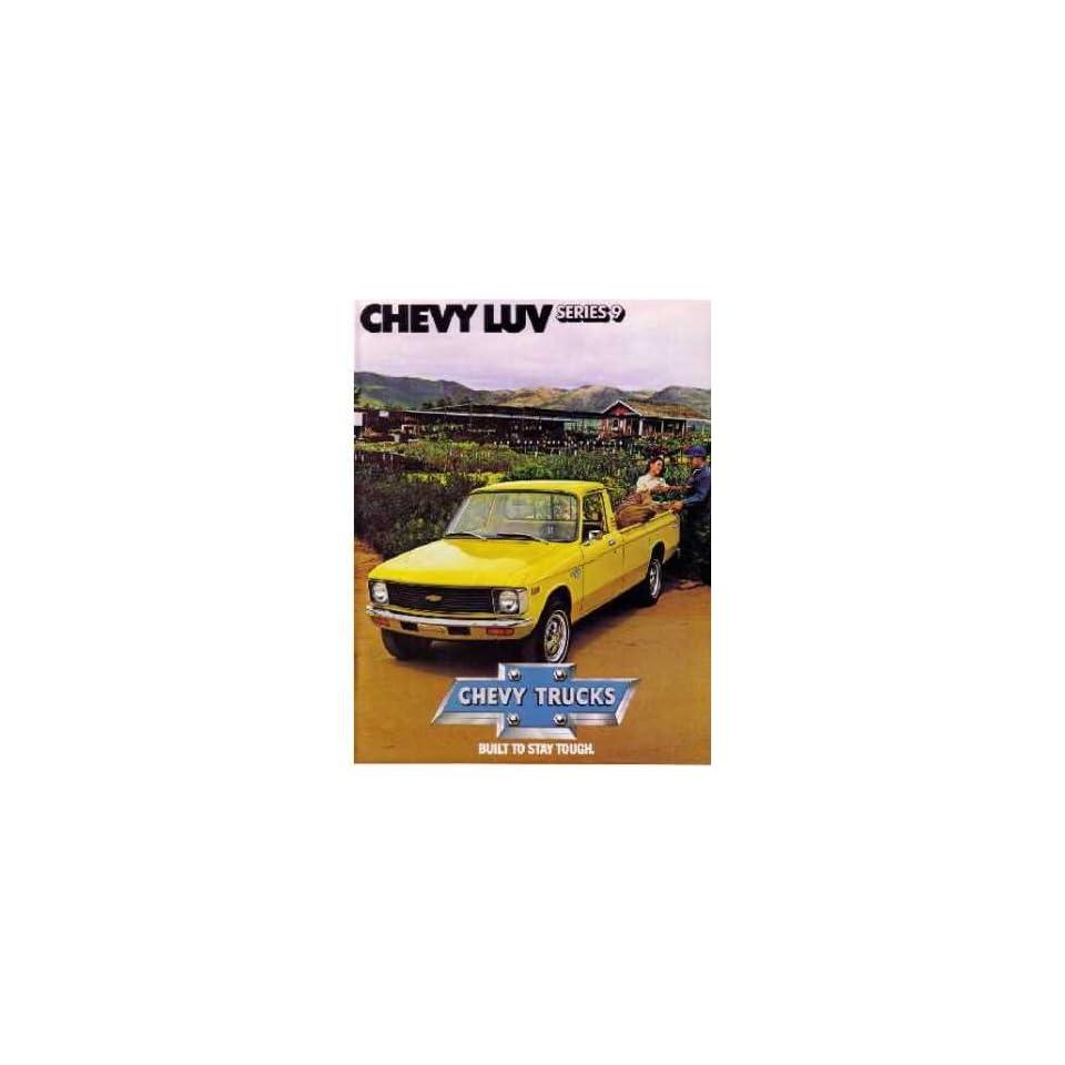 1979 CHEVROLET LUV Sales Brochure Literature Book