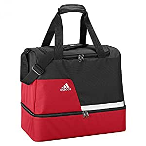 adidas Sporttasche Tiro Bottom Compartement, Black/University Red/White, 51 x 29 x 29 cm, Z09820