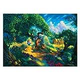 Jumbo Puzzle - Tom Du Bois Collection - Snow White (1000 pieces)