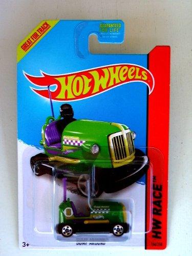 Bump Around (Green) Diecast Car (Hot Wheels)(2013) - 1
