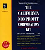 The California Nonprofit Corporation Kit: With Corporate Records Binder & Disk (0873374886) by Mancuso, Anthony